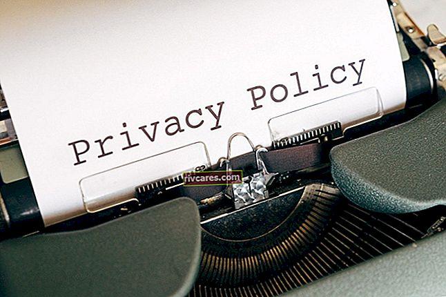 So fügen Sie eine Datenschutzrichtlinie für Blogger hinzu