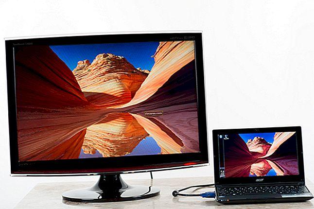 So schließen Sie einen Fernseher für einen Monitor an einen Acer TravelMate an