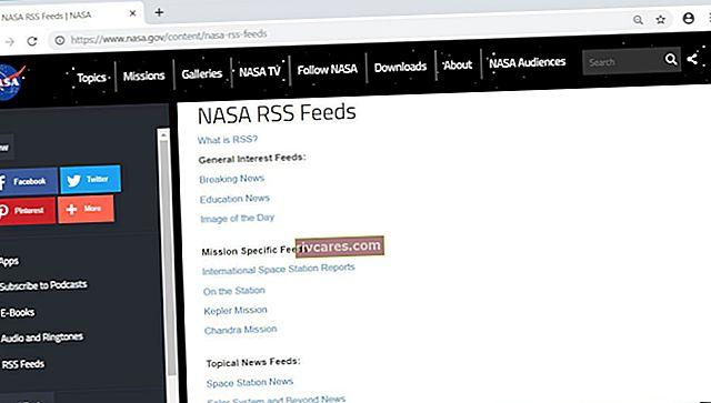 Come creare una pagina Web con un feed RSS