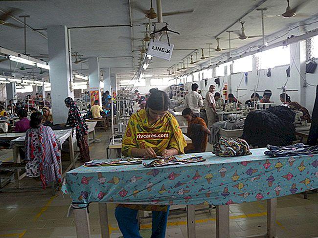Gli effetti negativi dell'outsourcing nell'industria dell'abbigliamento