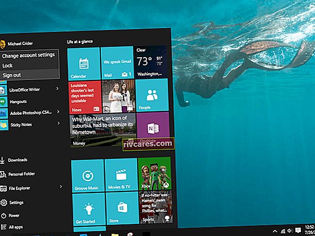 Come raggruppare le app del menu Start in Windows 7