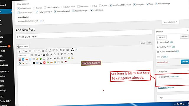 Aggiunta di tag ai singoli post su Blogspot