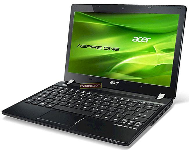 Come creare un disco di backup per Acer Aspire One Netbook eRecovery