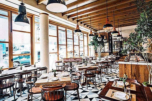 Come progettare un ristorante in un piccolo spazio, passo dopo passo